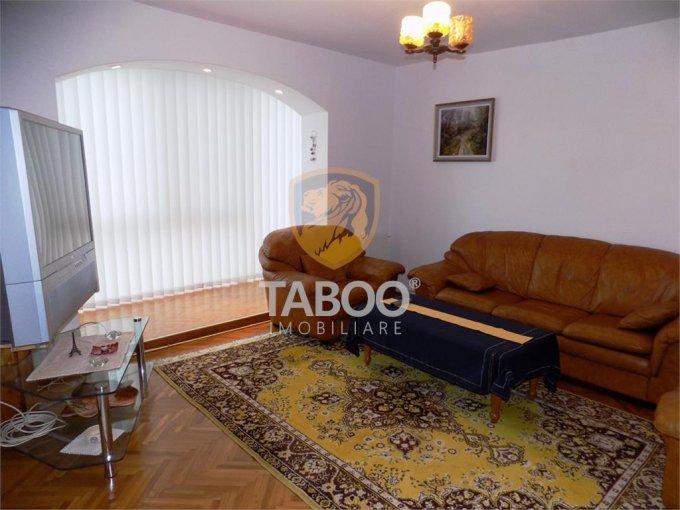 Apartament inchiriere Sibiu 3 camere, suprafata utila 68 mp, 1 grup sanitar. 375 euro. Etajul 2 / 4. Apartament Sibiu