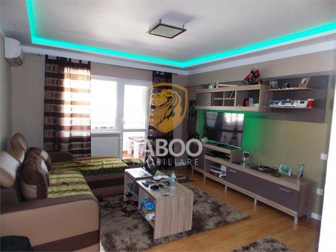 Apartament vanzare Sibiu 3 camere, suprafata utila 67 mp, 2 grupuri sanitare. 66.500 euro. Etajul 7 / 7. Apartament Sibiu