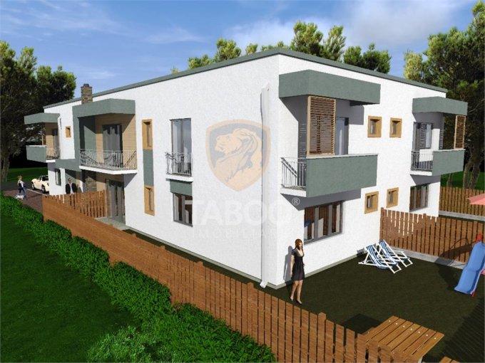 Apartament de vanzare in Sibiu cu 3 camere, cu 2 grupuri sanitare, suprafata utila 72 mp. Pret: 46.000 euro.