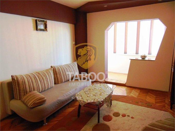 Apartament inchiriere cu 3 camere, etajul 3 / 8, 2 grupuri sanitare, cu suprafata de 70 mp. Sibiu.
