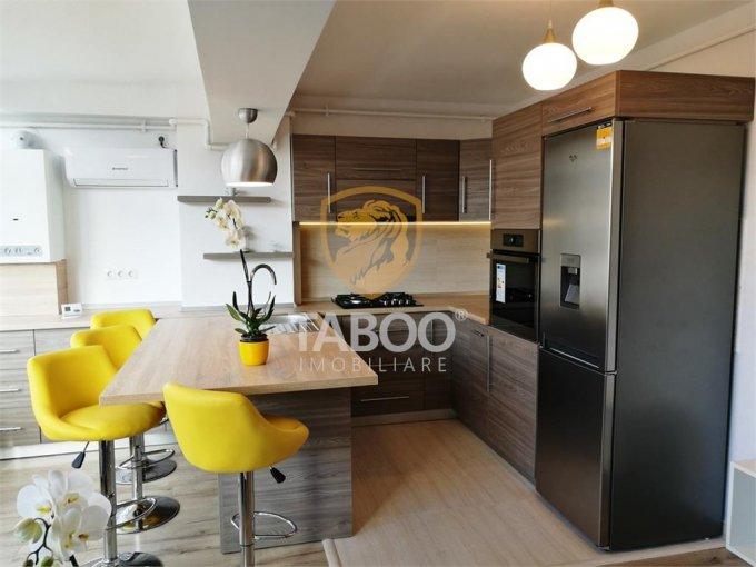 inchiriere Apartament Sibiu cu 3 camere, cu 1 grup sanitar, suprafata utila 78 mp. Pret: 550 euro.