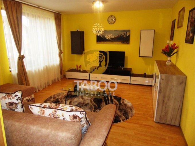 Apartament de inchiriat in Sibiu cu 3 camere, cu 1 grup sanitar, suprafata utila 84 mp. Pret: 500 euro.