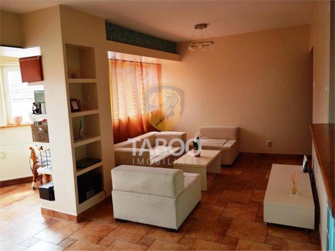 Apartament inchiriere Tilisca cu 3 camere, etajul 1 / 4, 1 grup sanitar, cu suprafata de 90 mp. Sibiu, zona Tilisca.