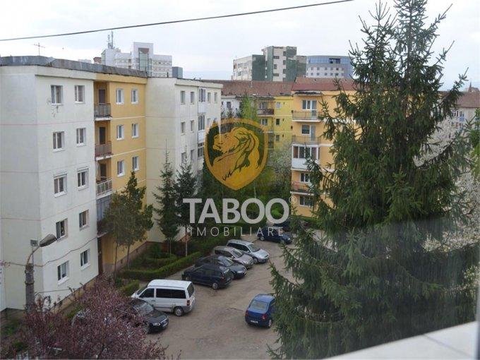 Apartament de vanzare in Sibiu cu 3 camere, cu 2 grupuri sanitare, suprafata utila 80 mp. Pret: 91.000 euro.