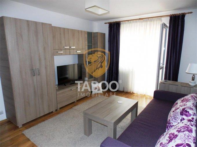 Apartament de inchiriat direct de la agentie imobiliara, in Sibiu, in zona Cedonia, cu 350 euro. 1 grup sanitar, suprafata utila 57 mp.