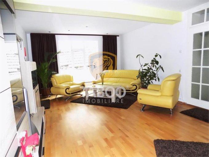 Apartament de inchiriat direct de la agentie imobiliara, in Sibiu, cu 650 euro. 1 grup sanitar, suprafata utila 90 mp.