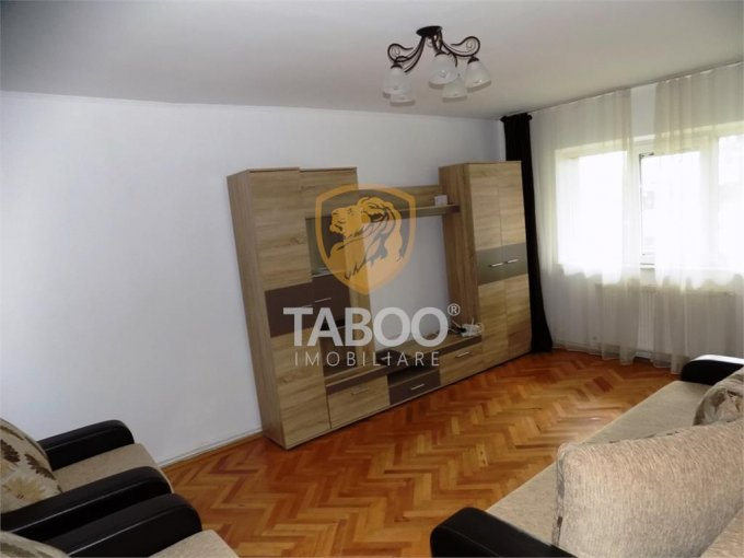 Apartament vanzare Sibiu 3 camere, suprafata utila 70 mp, 2 grupuri sanitare. 69.500 euro. La Parter / 5. Apartament Sibiu