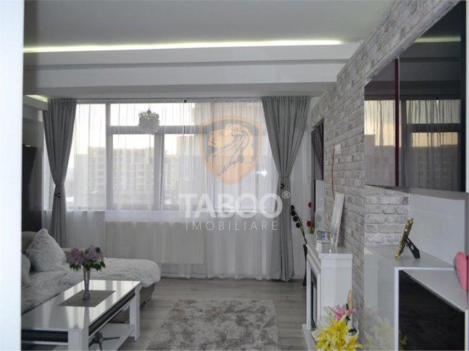 Apartament vanzare Sibiu 3 camere, suprafata utila 74 mp, 1 grup sanitar. 76.000 euro. Etajul 7 / 11. Apartament Sibiu