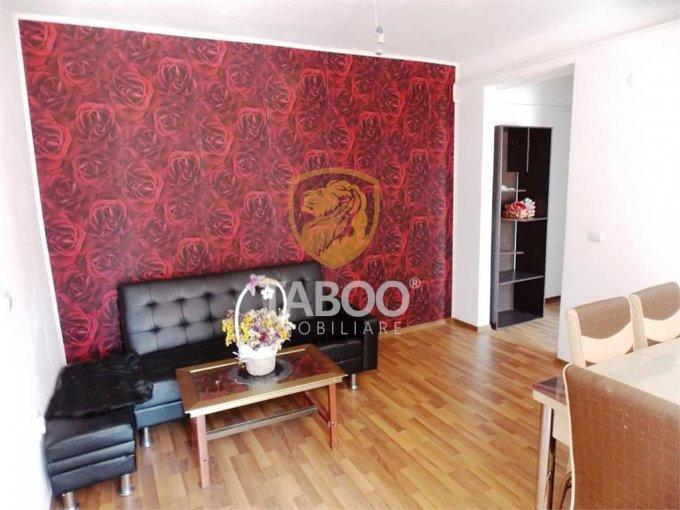 Apartament de inchiriat in Sibiu cu 3 camere, cu 1 grup sanitar, suprafata utila 60 mp. Pret: 300 euro.