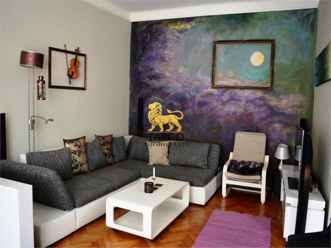 Apartament de inchiriat in Sibiu cu 3 camere, cu 1 grup sanitar, suprafata utila 90 mp. Pret: 1.000 euro.