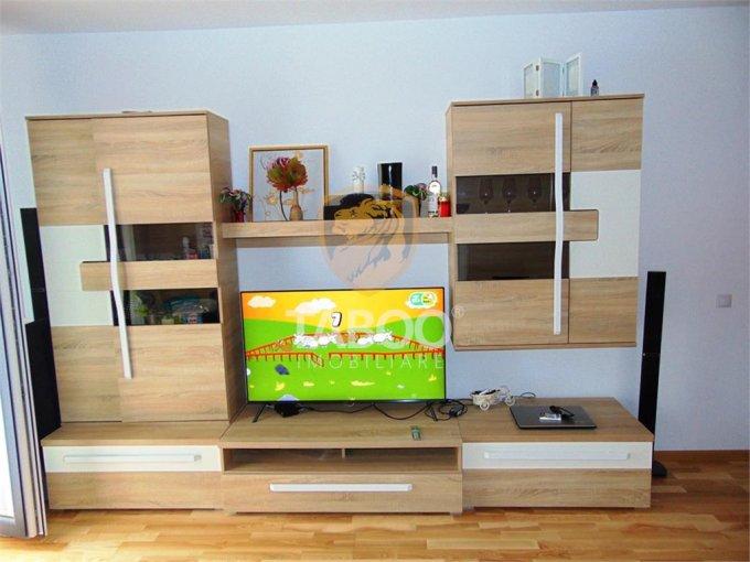 Apartament de vanzare in Sibiu cu 3 camere, cu 2 grupuri sanitare, suprafata utila 75 mp. Pret: 67.500 euro.