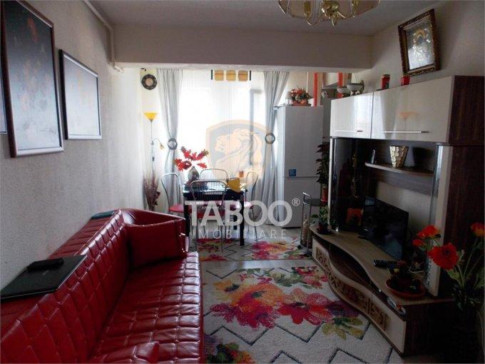 Apartament vanzare cu 3 camere, etajul 10 / 12, 1 grup sanitar, cu suprafata de 56 mp. Sibiu.