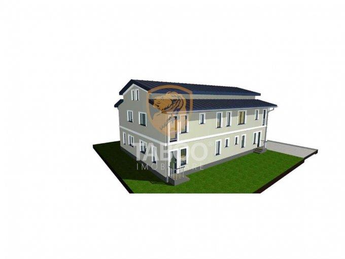 Apartament de vanzare in Sibiu cu 3 camere, cu 2 grupuri sanitare, suprafata utila 110 mp. Pret: 64.900 euro.