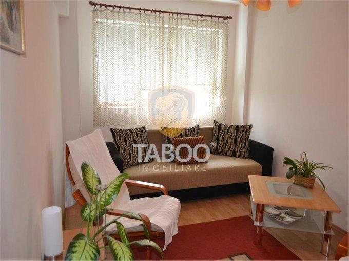 Apartament vanzare Sibiu 3 camere, suprafata utila 57 mp, 1 grup sanitar. 56.500 euro. Etajul 4 / 4. Apartament Sibiu