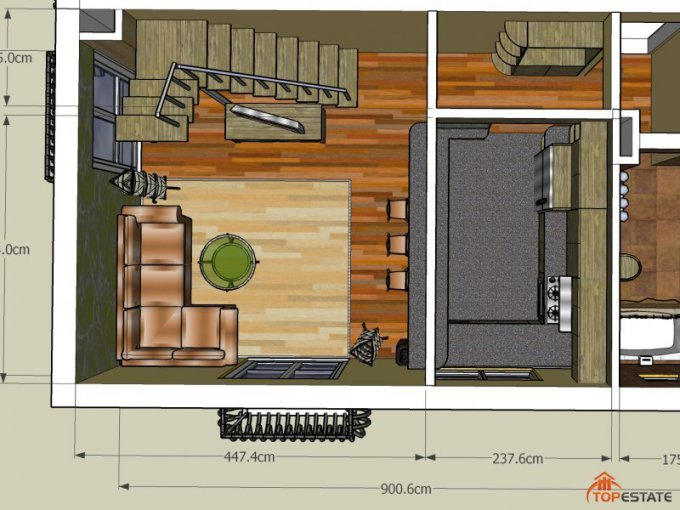 vanzare apartament cu 3 camere, decomandata, in zona Sud, orasul Sibiu
