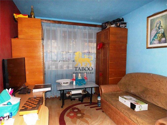 Apartament inchiriere Sibiu 3 camere, suprafata utila 54 mp, 1 grup sanitar. 300 euro. La Parter / 10. Apartament Sibiu