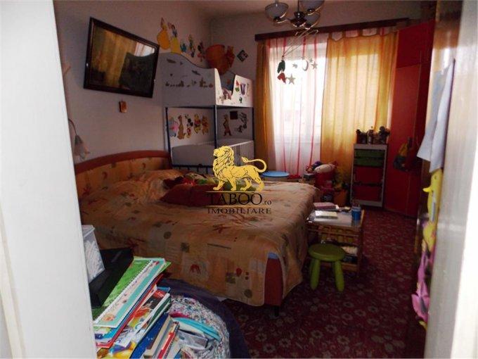 vanzare apartament cu 3 camere, semidecomandat-circular, in zona Piata Cluj, orasul Sibiu