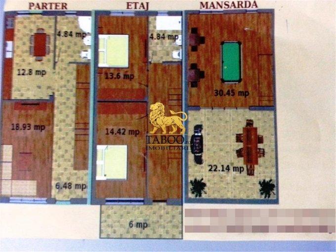 Sibiu Sura Mare, apartament cu 4 camere de vanzare