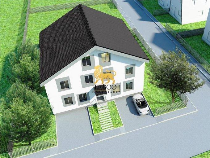 Apartament de vanzare direct de la agentie imobiliara, in Sibiu, in zona Calea Cisnadiei, cu 50.000 euro. 2 grupuri sanitare, suprafata utila 106 mp.