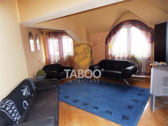 vanzare Apartament Sibiu cu 4 camere, cu 2 grupuri sanitare, suprafata utila 158 mp. Pret: 140.000 euro.