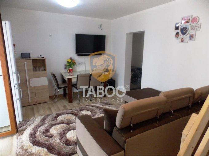 Apartament de vanzare in Sibiu cu 4 camere, cu 1 grup sanitar, suprafata utila 49 mp. Pret: 43.000 euro.