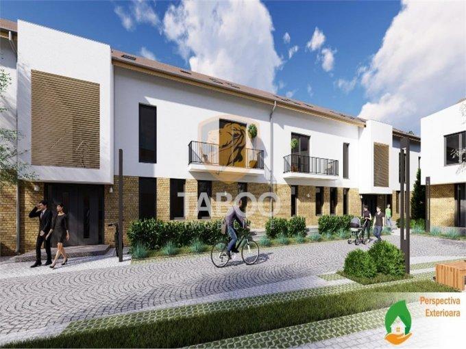 Apartament de vanzare in Sibiu cu 4 camere, cu 2 grupuri sanitare, suprafata utila 110 mp. Pret: 64.900 euro.