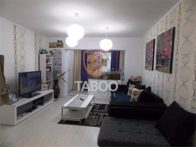 Apartament vanzare Sibiu 4 camere, suprafata utila 120 mp, 2 grupuri sanitare. 102.000 euro. Etajul 2 / 4. Apartament Strand Sibiu