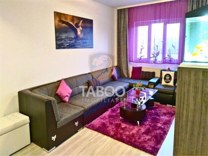 Apartament de vanzare direct de la agentie imobiliara, in Sibiu, in zona Compa, cu 82.500 euro. 2 grupuri sanitare, suprafata utila 84 mp.