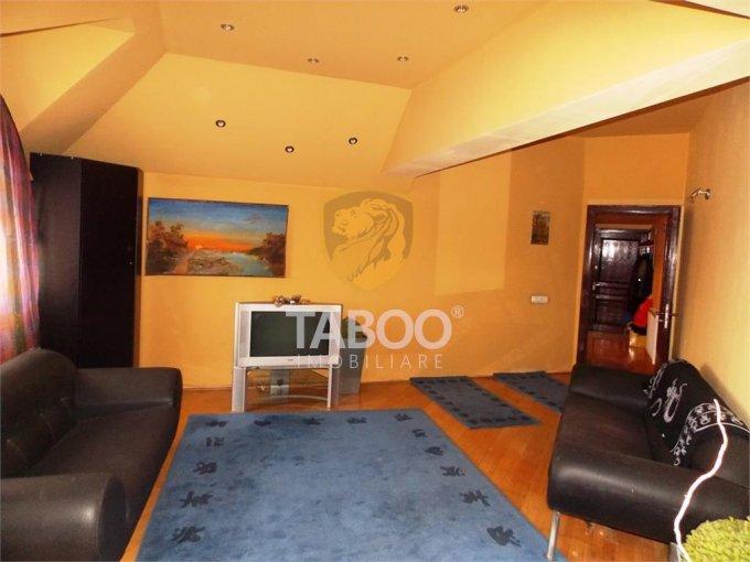 inchiriere Apartament Sibiu cu 4 camere, cu 2 grupuri sanitare, suprafata utila 158 mp. Pret: 550 euro.