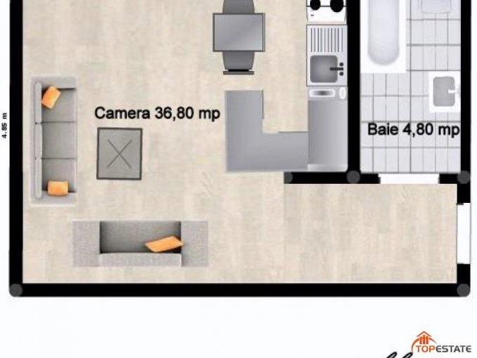 vanzare apartament cu 4 camere, decomandata, in zona Valea Aurie, orasul Sibiu