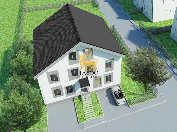Apartament de vanzare in Sibiu cu 5 camere, cu 2 grupuri sanitare, suprafata utila 106 mp. Pret: 50.000 euro.