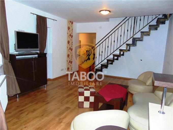 inchiriere Apartament Sibiu cu 5 camere, cu 2 grupuri sanitare, suprafata utila 131 mp. Pret: 440 euro.