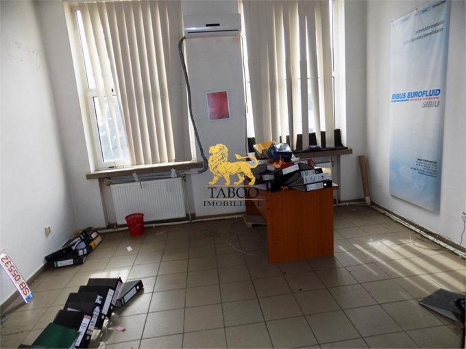 inchiriere Birou Sibiu Gara cu 1 camera, 1 grup sanitar, avand suprafata de 26 mp. Pret: 100 euro. agentie imobiliara inchiriez Birou.