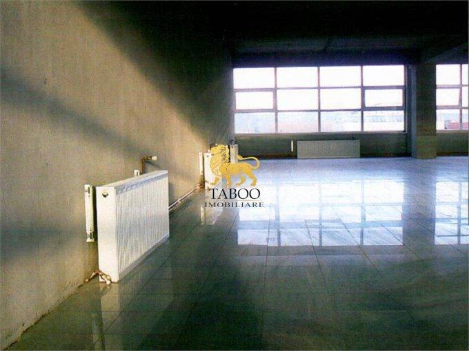 Birou de vanzare direct de la agentie imobiliara, in Sibiu, zona Calea Dumbravii, cu 310.000 euro. 1 grup sanitar, suprafata utila 369 mp.