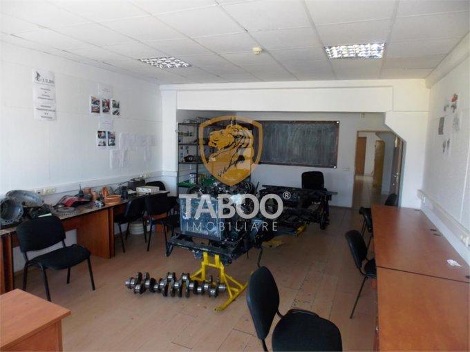 Birou de inchiriat Turnisor Sibiu cu 1 camera, cu 1 grup sanitar, suprafata 40 mp. Pret: 190 euro.