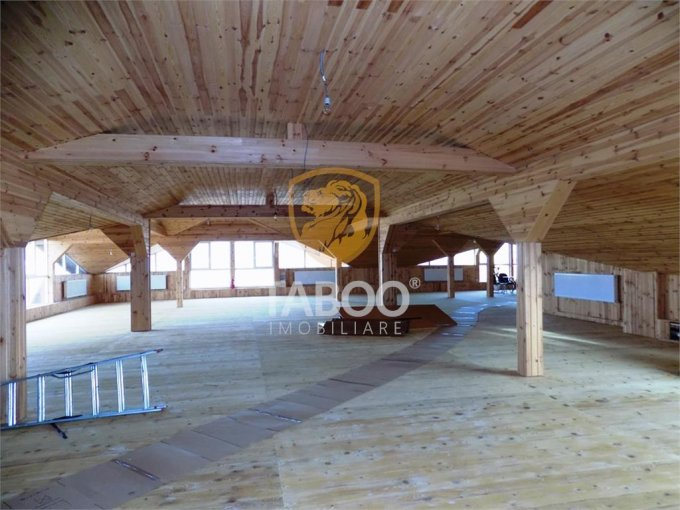 Birou inchiriere Sibiu cu 1 camera de inchiriat, cu suprafata utila de 400 mp. 1.500 euro. Etajul 3 / 3 Birou Sibiu