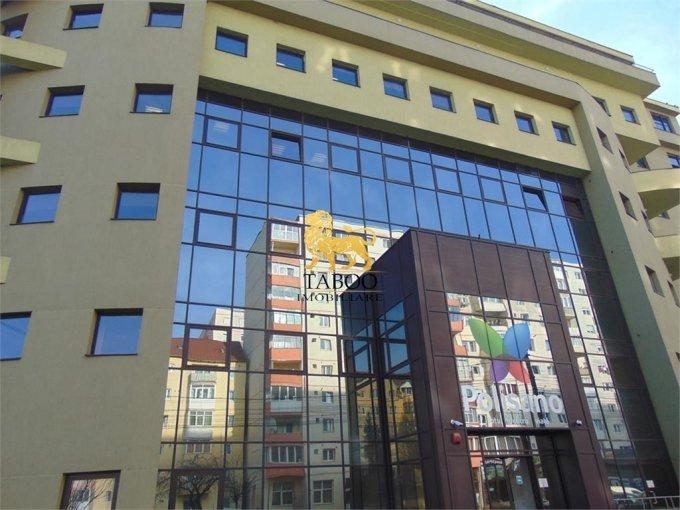 Birou de vanzare Vasile Aaron Sibiu cu 100 camere, cu 7 grupuri sanitare, suprafata 4050 mp. Pret: 3.000.000 euro.