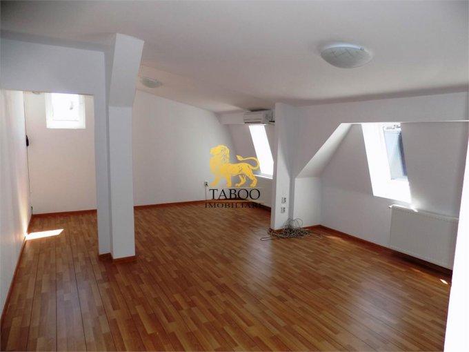 inchiriere birou cu 3 camere, 2 grupuri sanitare, suprafata de 106 mp. In orasul Sibiu.
