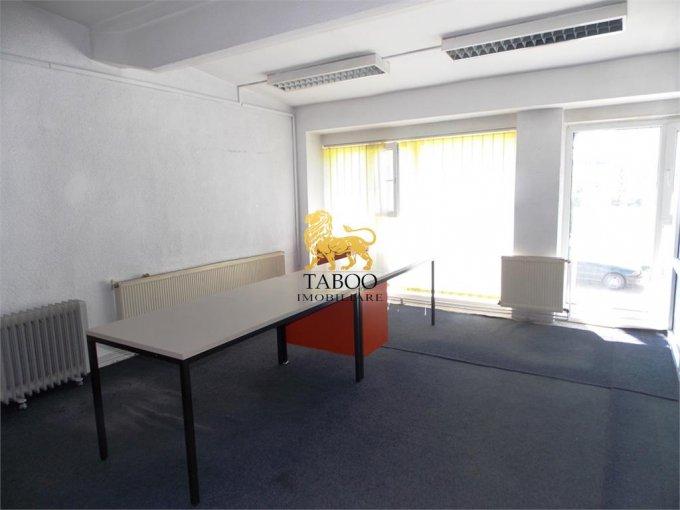inchiriere birou cu 3 camere, 1 grup sanitar, suprafata de 72 mp. In orasul Sibiu.