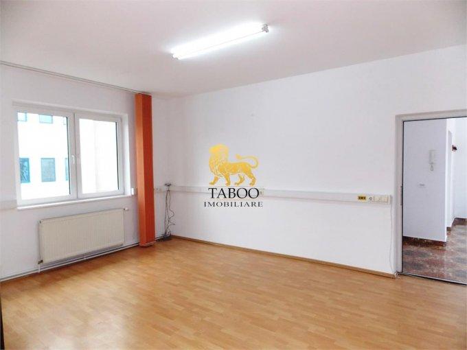 Birou inchiriere Sibiu cu 3 camere de inchiriat, cu suprafata utila de 140 mp. 950 euro. Etajul 1 / 1 Birou Sibiu