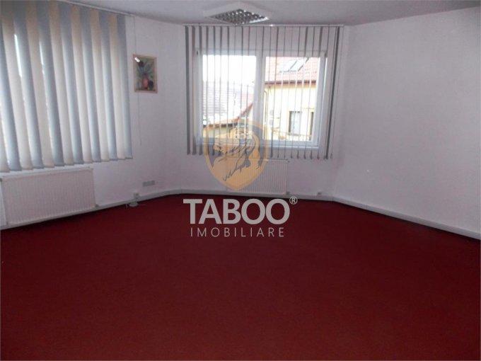 Birou inchiriere Sibiu cu 3 camere de inchiriat, cu suprafata utila de 65 mp. 600 euro. Etajul 1 / 3 Birou Sibiu