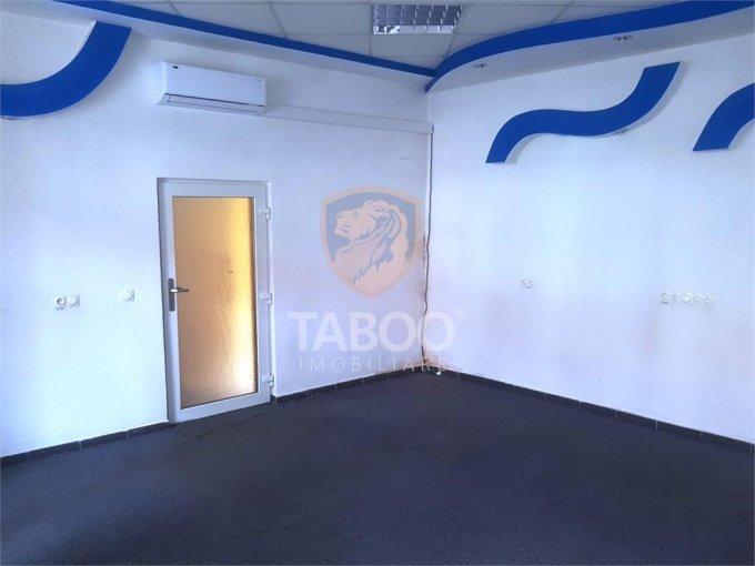 Birou de inchiriat Sibiu cu 3 camere, cu 1 grup sanitar, suprafata 51 mp. Pret: 500 euro.