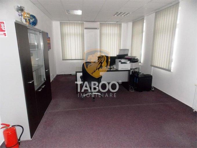 Birou de inchiriat Turnisor Sibiu cu 4 camere, cu 1 grup sanitar, suprafata 235 mp. Pret: 2.300 euro.