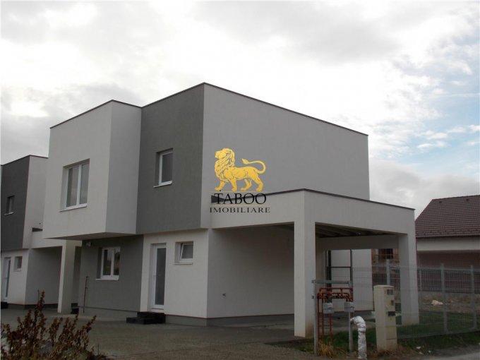 Calea Cisnadiei Sibiu casa cu 3 camere, 2 grupuri sanitare, cu suprafata utila de 99 mp, suprafata teren 211 mp si deschidere de 13 metri. In orasul Sibiu Calea Cisnadiei.