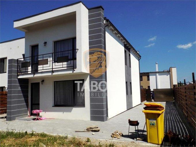Casa de inchiriat direct de la agentie imobiliara, in Sibiu, zona Turnisor, cu 850 euro. 2 grupuri sanitare, suprafata utila 86 mp. Are  3 camere.