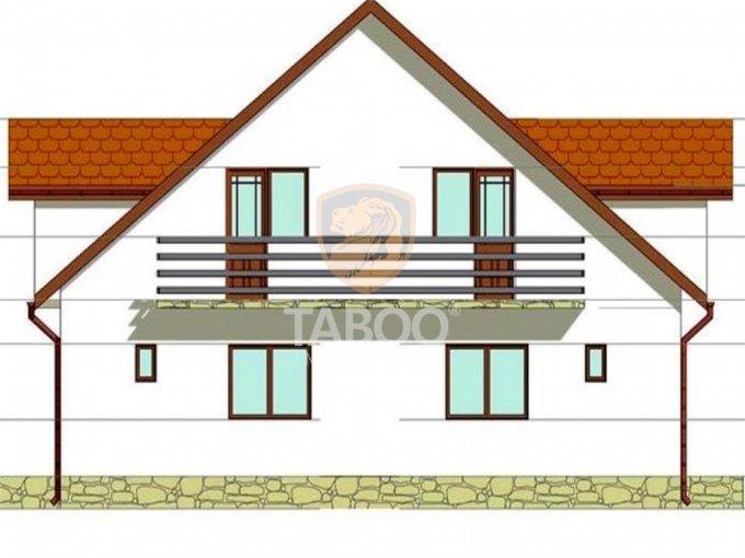 Casa de vanzare direct de la agentie imobiliara, in Sibiu, zona Calea Cisnadiei, cu 60.000 euro. 2 grupuri sanitare, suprafata utila 90 mp. Are  3 camere.