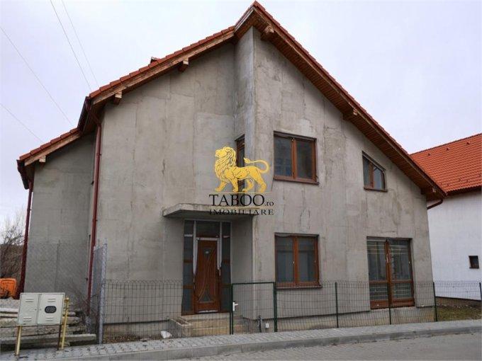 Casa de vanzare direct de la agentie imobiliara, in Sibiu, zona Turnisor, cu 136.000 euro. 3 grupuri sanitare, suprafata utila 187 mp. Are  4 camere.