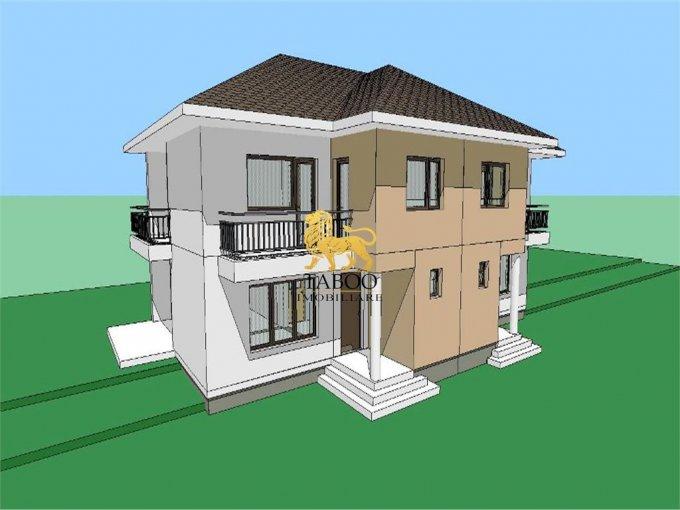 Selimbar casa cu 4 camere, 2 grupuri sanitare, cu suprafata utila de 115 mp, suprafata teren 250 mp si deschidere de 13 metri. In comuna Selimbar.