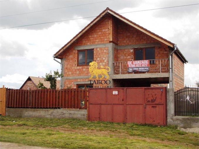 vanzare Casa Cristian cu 4 camere, cu suprafata utila de 160 mp, 2 grupuri sanitare. 85.000 euro.. Casa vanzare Cristian  Sibiu