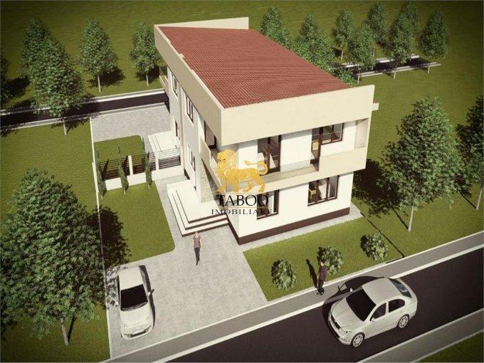 Selimbar Sibiu casa cu 4 camere, 3 grupuri sanitare, cu suprafata utila de 122 mp, suprafata teren 250 mp si deschidere de 14 metri. In orasul Sibiu Selimbar.